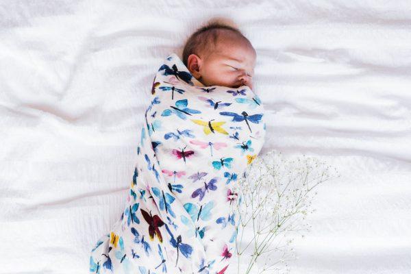 All A Flutter - Bamboo Organic GOT's Cotton Muslin Swaddle Blanket