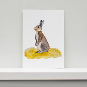 Mrs Rabbit A5 pRINT