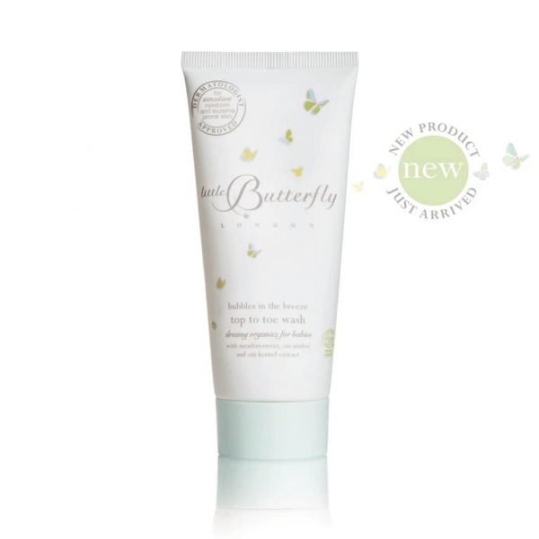 bubbles in the breeze top to toe wash 100ml